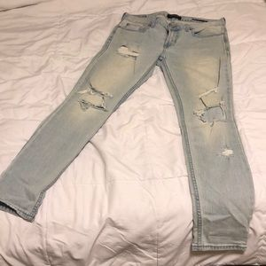 PacSun Los Angeles Skinny Ripped Jeans